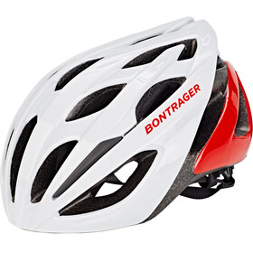 Bontrager Starvos Road Casco, trek white/viper red